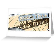 Kodak Theater 0823 Greeting Card