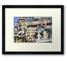 Seychelles Hindu Temple Framed Print