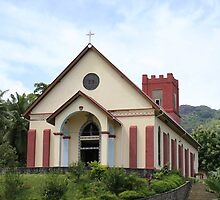 Anse Boileau Church by klphotographics