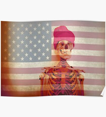 American Skate or Death Poster