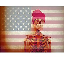 American Skate or Death Photographic Print