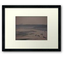 'Orwell Dawn', Wherstead, Ipswich, Suffolk Framed Print