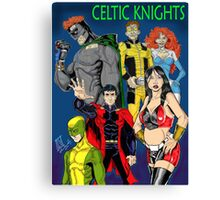 Celtic Knights 2012 Canvas Print
