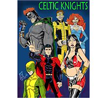 Celtic Knights 2012 Photographic Print