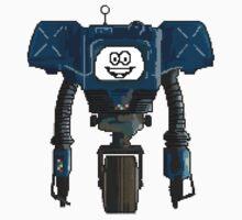 8-BIT ART - Fallout's Yes Man! by doughballdesign