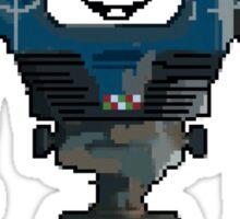 8-BIT ART - Fallout's Yes Man! Sticker