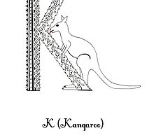 K is for Kangaroo by Cat-Igrun
