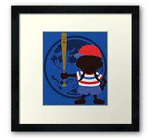 Ness ('Merica) - Sunset Shores Framed Print