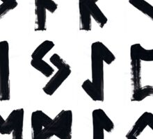 Runes - Elder Futhark - 0025 - Collected Sticker