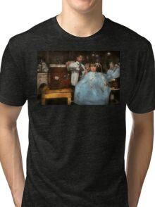Barber - Portable music player 1921 Tri-blend T-Shirt