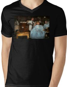Barber - Portable music player 1921 Mens V-Neck T-Shirt