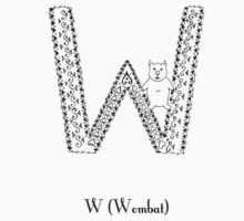 W is for Wombat Kids Clothes