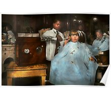 Barber - Portable music player 1921 Poster