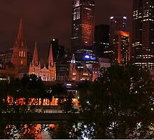 Across The Yarra - Melbourne - Victoria - Australia by bayside2