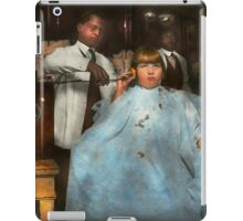 Barber - Portable music player 1921 iPad Case/Skin