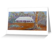 Old Cottage in Mintaro, Clare Valley. Greeting Card