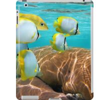 Coral and tropical fish iPad Case/Skin