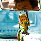 Taxi Driver - Shiraz - Iran by Bryan Freeman