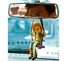 Taxi Driver - Shiraz - Iran Photographic Print