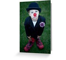 Tears Of A Clown Greeting Card