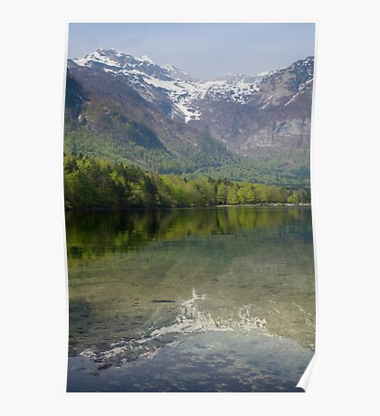 Reflections of the Julian Alps Poster