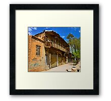 Fall From Grace - Shiraz - Iran Framed Print
