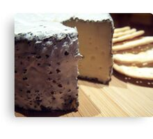 "And today's ""Cheese of the Day"" is ... Canvas Print"