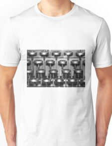Typewriter Keys Unisex T-Shirt