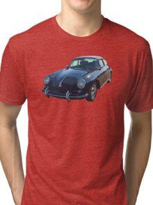 Black 1962  Porsche 356 E Tri-blend T-Shirt