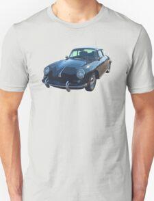 Black 1962  Porsche 356 E T-Shirt
