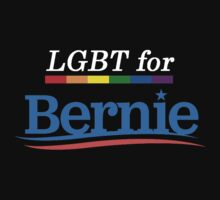 LGBT For Bernie Sanders 2016 President  by tbrown4244