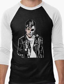 Alex Turner Skull Art Men's Baseball ¾ T-Shirt
