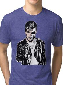 Alex Turner Skull Art Tri-blend T-Shirt