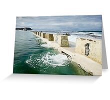 Merewether Baths Greeting Card