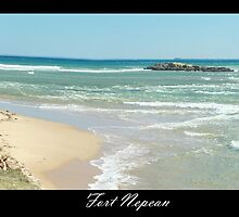Fort Nepean looking out through the heads by Melanie Conroy