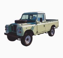 1971 Land Rover Pick up Truck Kids Clothes