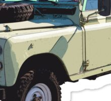 1971 Land Rover Pick up Truck Sticker