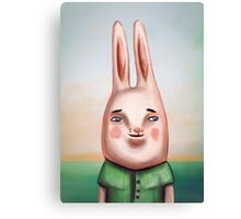 Daily Bunny Canvas Print