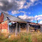Old wool sheds at Forde, Canberra by Anna Calvert