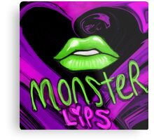 monster lips Metal Print