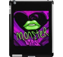 monster lips iPad Case/Skin