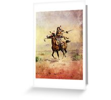 Nobleman of the Plains Indian Greeting Card