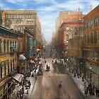 City - Kansas City MO - Petticoat Lane 1906 by Mike  Savad