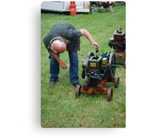 padstow steam rally Canvas Print