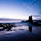Sand Spun Blue by David Haworth
