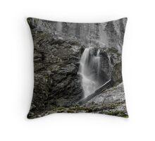Water drape Throw Pillow