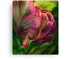 Tulips - Colors Of Paradise 3 Canvas Print
