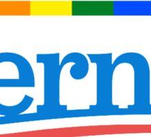 Rainbow Bernie Sanders 2016 Logo  Sticker