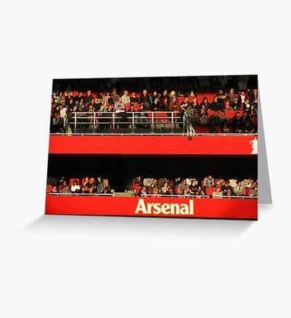 Arsenal Football Club Greeting Card