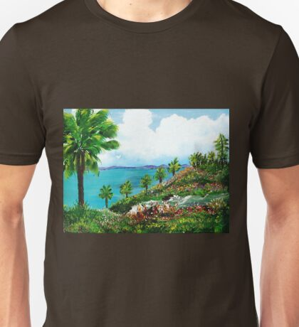 Somewhere On A Hill Top In Puerto Rico Unisex T-Shirt